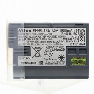 Original Nikon EN-EL15B Battery for Nikon D850 D810 D800 D750 D610 D600 D500 Z7