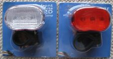 Front and rear LED cycle lamps - Multi-function (flashing, sequential, on)