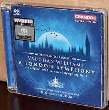 CHANDOS SACD CHSA 5001: Vaughan Williams: A London Symphony - HICKOX - 2003 EU
