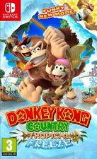 Donkey Kong Country: Tropical Freeze (Switch) Fast Free UK P&P New & Sealed