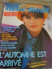 """👗 MAGAZINE VINTAGE """"NEUE MODE  L'AUTOMNE EST ARRIVE SEPTEMBRE  1986"""