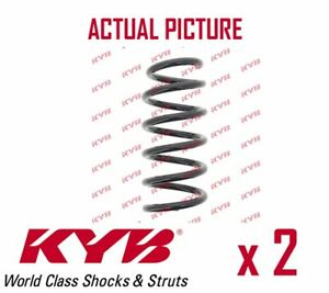 2 x NEW KYB FRONT AXLE COIL SPRING PAIR SET SPRINGS OE QUALITY RC2233