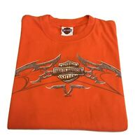 VTG 90s Harley Davidson T-Shirt Men's Medium Motorcycles Racing 2005 Official