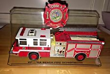 Code 3 Virginia Beach Fire Dept Pierce Quantum #5 Fire Truck 1:64 Diecast 12767