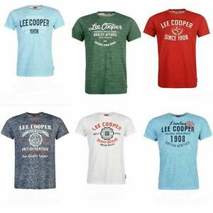 Lee Cooper Vintage Logo Mens Tshirt
