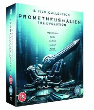"PROMETHEUS TO ALIEN THE EVOLUTION BOX SET 8 DISCS BLU-RAY RB ""NEW&SEALED"""