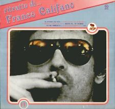 """FRANCO CALIFANO"""" RITRATTO DI """" LP SIGILLATO RECORD BAZAAR-CGD 1981"""