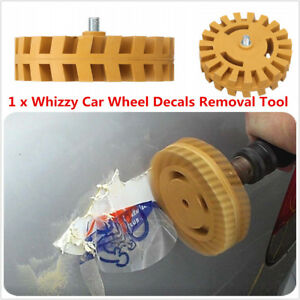 Decal Removal Wheel Pinstripe Removal Tool Car Decal Removal Eraser Wheel