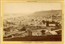 J.H. Schönscheidt, Cöln a. Rhein, Panorama von Bingen  Vintage albumen print.