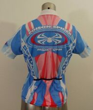 Sugoi Poison Spider women's cycling jersey blue & pink M