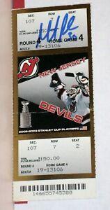 MARTIN BRODEUR Autograph 2003 Stanley Cup Finals Ticket Game 7 STEINER Devils