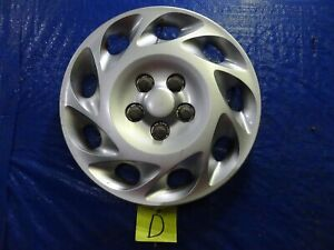 "00-02 SATURN L SERIES 15""  9 Slot  Wheel Cover Hub Cap  2501562 #D"