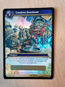 WoW TCG LOOT KARTE Landros Geschenk / LOOT CARD Landro's Gift