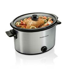 Hamilton Beach Slow Cooker 10 Qt Portable Kitchen Countertop Cooking Appliance