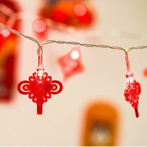 Fashion Novelty Chinese Knot Led Light String Event Party Style Props Decorative