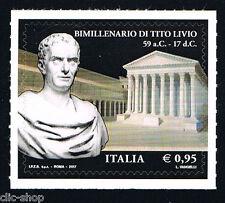 ITALIA 1 FRANCOBOLLO BIMILLENARIO DI TITO LIVIO  2017 nuovo** (BI8549)