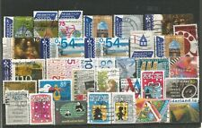 NETHERLANDS - USEFUL SMALL USED COLLECTION OF LATER SELF ADHESIVE EURO STAMPS.