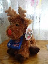 Pepsi Promotional Plush Stuffed Animals Holiday Moose 2013 scarf Nwt