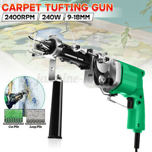 Cut & Loop Pile Elektro Teppichherstellung Weberei Tufting Gun Flocking Machine