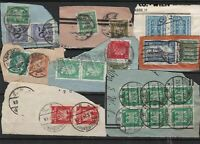 Germany early Stamps on piece Ref 14225