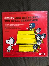 "THE ROYAL GUARDSMEN LP ""Snoopy And His Friends"" from '67 Sealed! Charles Schulz"