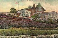 C.1910 Scripps Residence, La Jolla, San Diego, California Postcard P122