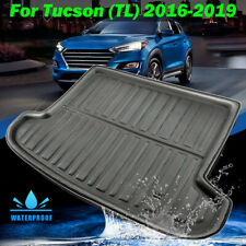 Rear Trunk Cargo Boot Liner Tray Mat For Hyundai Tucson 2015-2019