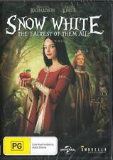 SNOW WHITE - THE FAIREST OF THEM ALL - NEW & SEALED REGION 4 DVD FREE LOCAL POST