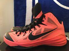 Nike Hyperdunk 2014, 653640-800, Mango/Black, Men's Basketball Shoes, Size 13.5