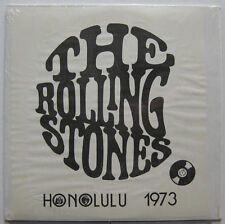 THE ROLLING STONES Live In HONOLULU 1973 LP Shrink! CBM not TMOQ Minty! JAGGER