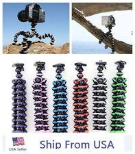 Mini Flexible Tripod Bubble Octopus Stand  Pod for Gopro Camera / SLR / DV USA