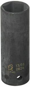 Sunex 2626 1/2-Inch Drive 13/16-Inch Extra Thin Wall Deep Impact Socket