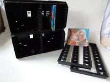 CD/DVD Rack 4 Stück Schwarz 2 als Box und 2 als Flipper (Ständer)