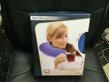 NECK MASSAGE PILLOW, new in unopened box