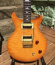 PRS SE Santana 2011 Limited Edition Orange Quilted Maple