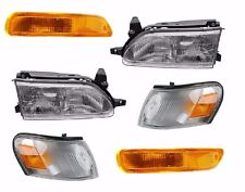 1993 - 1997 TOYOTA COROLLA HEADLIGHT HEAD, CORNER & SIGNAL LAMP LIGHT RIGHT LEFT