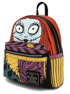 Nightmare Before Christmas Sally Cosplay Face Loungefly Mini Backpack IN HAND