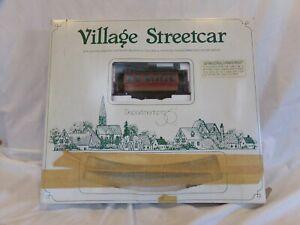 Bachmann On3 Village Street Car Brill Trolley Starter Set Lot.