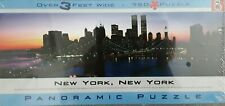 New York New York Panoramic Jigsaw Puzzle - 750 Pieces -BV Leisure Ltd