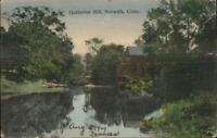 Norwalk CT Gutheries Mill c1910 Postcard