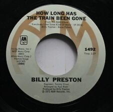 Rock 45 Billy Preston - How Long Has The Train Been Gone / You'Re So Unique On I