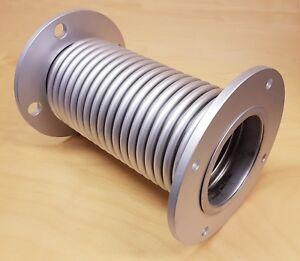Exhaust bellows 4 inch bore x 280 mm