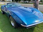 1970 Chevrolet Corvette convertible 1970 Chevrolet Corvette convertible Blue RWD Automatic