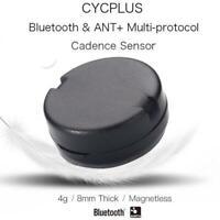 Smart Wireless Bluetooth Waterproof Cycling Bike Bicycle Speed Cadence Sensor