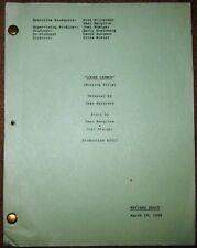 """TV Pilot  Script  """"Loose Cannon"""""""
