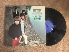 Rolling Stones Big Hits High Tide Green Grass w/ inner Picture Book Record LP VG