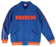 Denver Broncos Mitchell & Ness Play Call Premium Fleece Jacket XXL