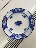 Early 19th C Spode Copeland & Garrett Flow Blue Warming Plate Dish