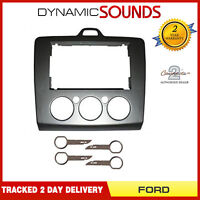 Replacement Double Din Fascia DFP-07-17 for FORD FOCUS 2006 ON & PC5-132 KEYS