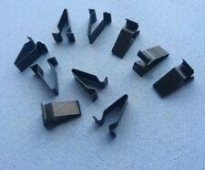 (320) 10x Blech Klemme Metall Halterklammern Steckklammer für Audi Seat Skoda